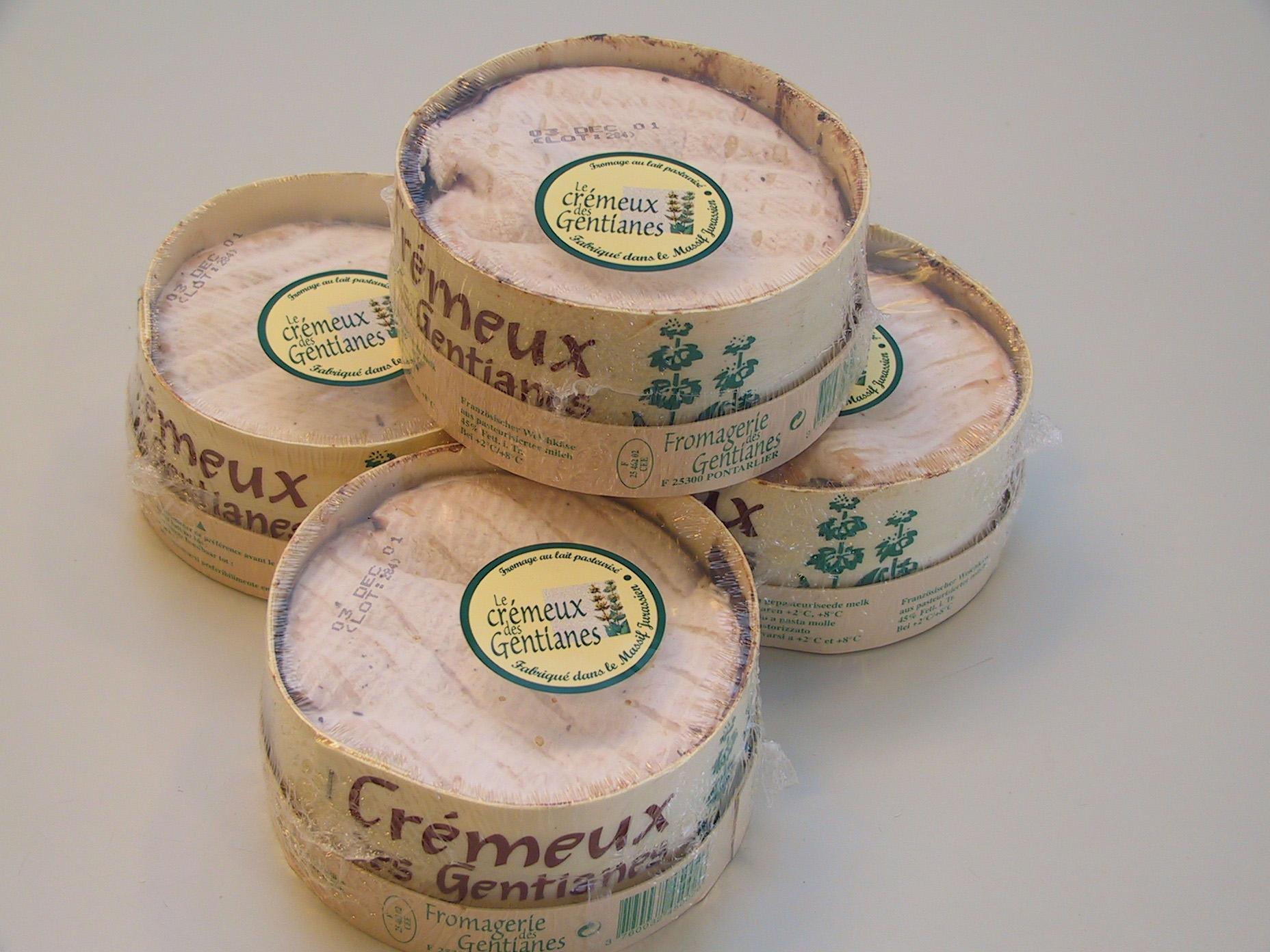 Cremeux des Gentianes 300 gram