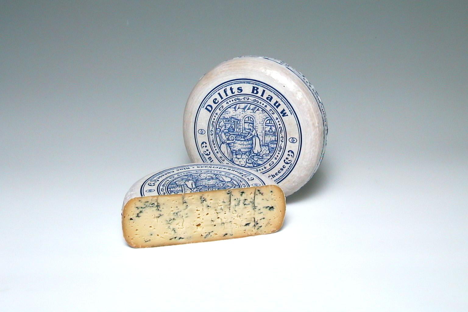 Delfts Blauw aangesneden